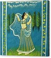 Radha's Passion Acrylic Print
