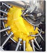 Radial Engine Acrylic Print