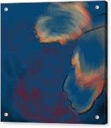 Radial Flowers Acrylic Print