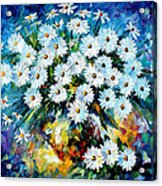 Radiance 2 - Palette Knife Oil Painting On Canvas By Leonid Afremov Acrylic Print