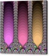 Radiant Columns Acrylic Print