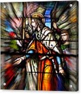 Radiant Jesus Acrylic Print