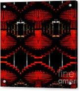 Radiation Dna Glow Acrylic Print