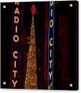 Radio City Christmas Acrylic Print