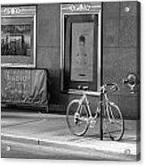 Radio City Music Hall In Black And White Acrylic Print