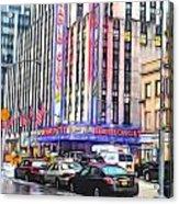 Radio City Music Hall New York City - 2 Acrylic Print