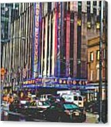 Radio City Music Hall New York City- 1 Acrylic Print