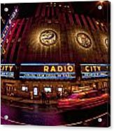 Radio City Acrylic Print
