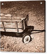 Radio Flyer Trav-ler Wagon Acrylic Print