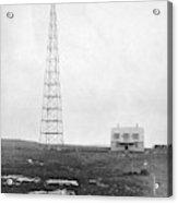 Radio Station, 1916 Acrylic Print
