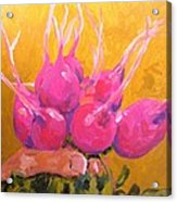 Radishing Beauty Acrylic Print