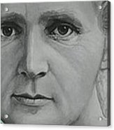 Radium- Marie Curie Acrylic Print