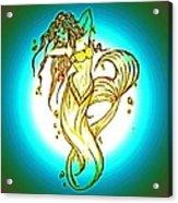 Radius Mermaid Acrylic Print