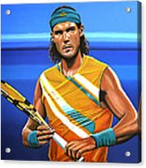 Rafael Nadal Acrylic Print