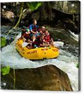 Rafting Bliss Acrylic Print