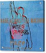 Rage Against The Machine Acrylic Print