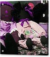 Ragged Annie Dolls Acrylic Print