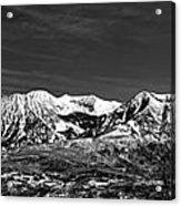 Ragged Mountain Colorado Acrylic Print