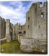 Raglan Castle - 4 Acrylic Print