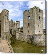 Raglan Castle - 5 Acrylic Print