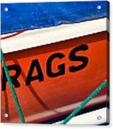 Rags Acrylic Print
