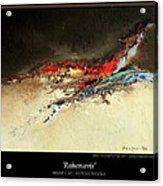 Rahonavis Acrylic Print