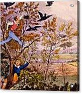 Raiding The Rook's Nest Acrylic Print