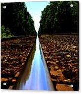 Rail Line Acrylic Print
