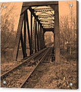 Railbridge Acrylic Print