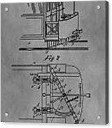Railcar Fender Acrylic Print