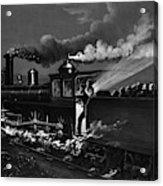 Railroad Danger Signal Acrylic Print