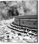 Railroad Heat Acrylic Print