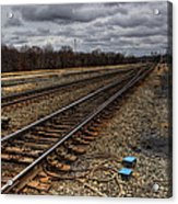 Railroad Interlocking Acrylic Print