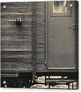 Railroad Nostalgia Acrylic Print