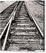Railroad Switch Acrylic Print
