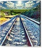 Railroad To Heaven Acrylic Print
