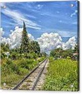 Railroad Track Acrylic Print