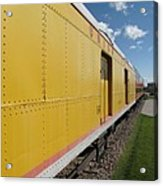 Railroad Train Acrylic Print