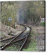 Railway Line Acrylic Print