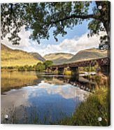 Railway Viaduct Over River Orchy Acrylic Print