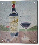 Rain And Wine Acrylic Print