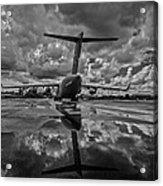 Rain At The Base Acrylic Print