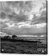 Rain Clouds At Sea 2 Acrylic Print