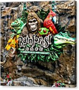 Rain Forest Cafe Signage Walt Disney World Acrylic Print
