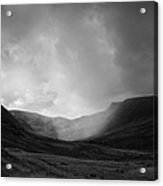 Rain In Riggindale Acrylic Print
