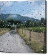 Rain Is Watching Acrylic Print
