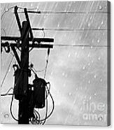 Rain Acrylic Print by Jennifer Kimberly