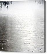 Rain On The Flint Acrylic Print