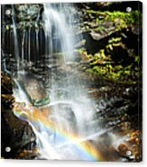 Rainbow And Falls Acrylic Print