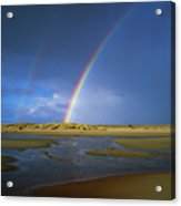 Rainbow Appears Over The Mouth Acrylic Print